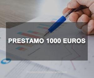 Prestamo 1000 euros