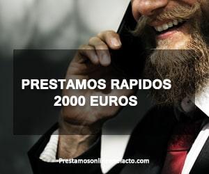 Prestamos rapidos 2000 euros