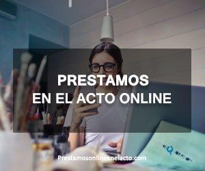 prestamos en el acto online