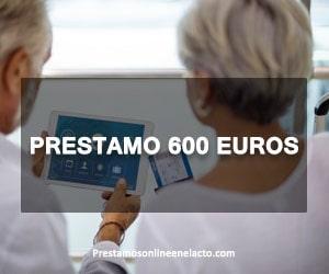 prestamo 600 euros