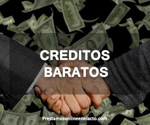 creditos baratos