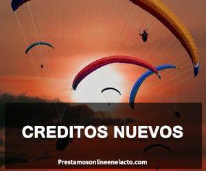 creditos nuevos