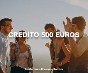 Credito 500 euros