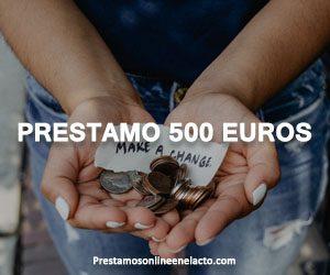 Prestamo 500 euros