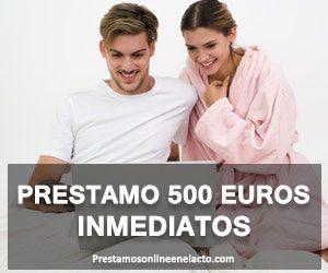 Prestamo 500 euros inmediatos