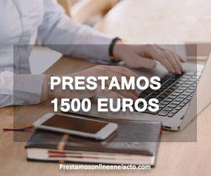 Prestamos 1500 euros