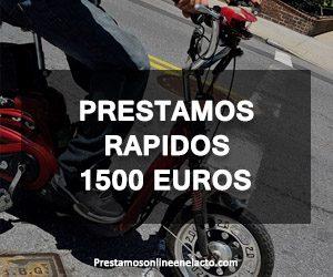 Prestamos rapidos 1500 euros
