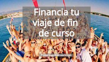 Financia tu viaje