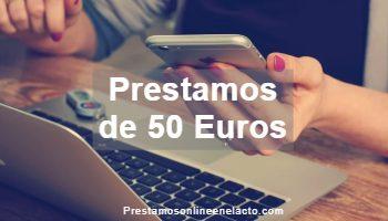 Prestamos de 50 Euros