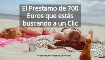 prestamo 700 euros